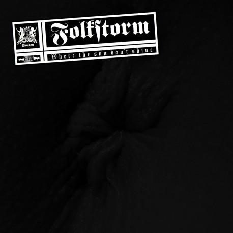 "Folkstorm – Where The Sun Don't Shine (Vinyl, 12"", Gold)"