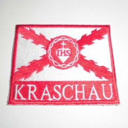 Kraschau Patch (Red and White)
