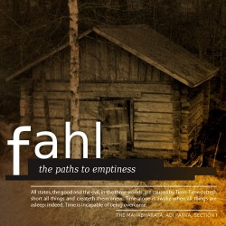 Fahl – The Paths To Emptiness