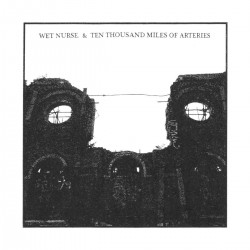 Wet Nurse. / Ten Thousand Miles Of Arteries ‎– Split CD