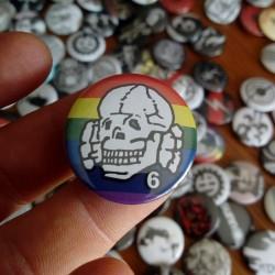 Pin Death in June Logo NWO