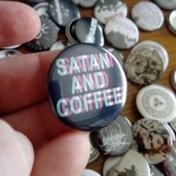 Pin Satan and Coffee