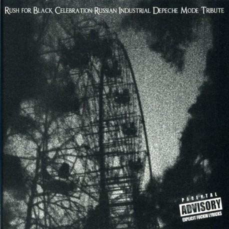Various – Rush For Black Celebration - Russian Industrial Depeche Mode Tribute