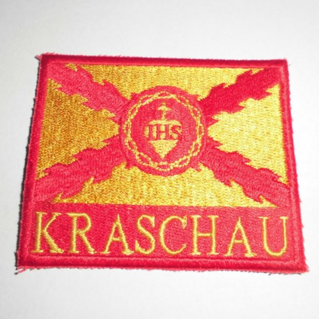 Kraschau Patch (Yellow and Red)